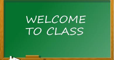School blackboard image
