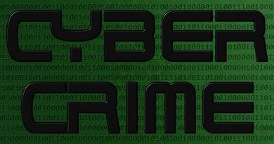 Cyber crime logo image