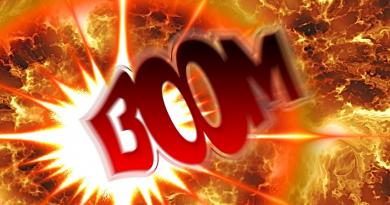 Boom graphic