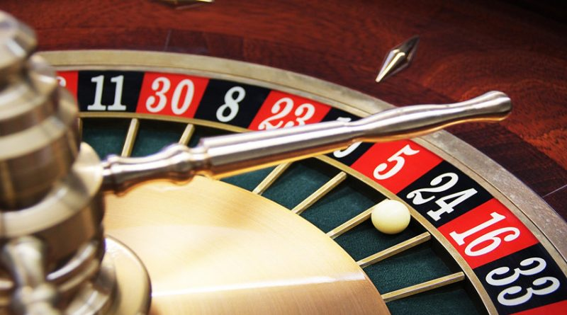photo of roulette wheel