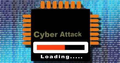 image of computer chip with 'attack loading' written upon it