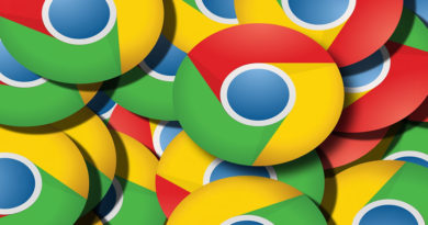 Lots of Google Chrome logos