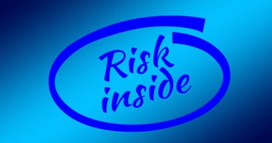 Intel Inside style logo saying Risk Inside