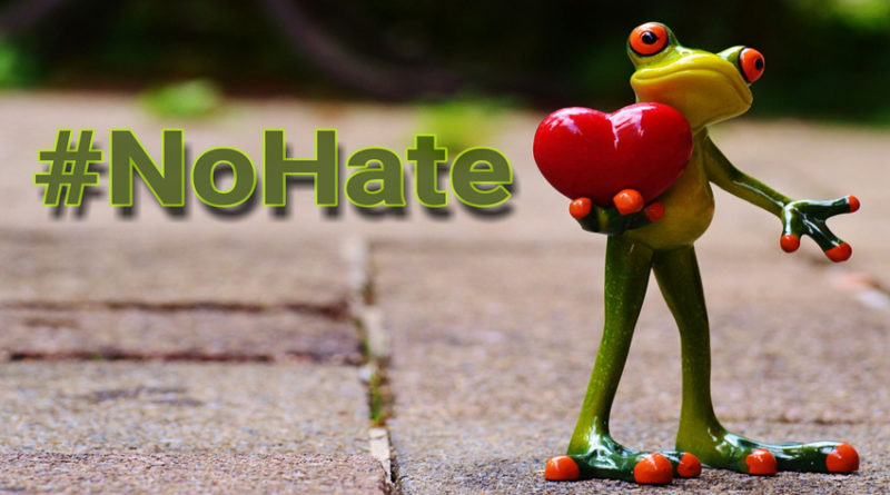 Frog holding a love heart